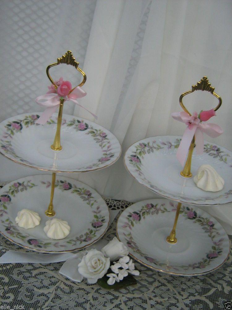 WEDDING Vintage CREATIVE FINE CHINA REGENCY ROSE 2345