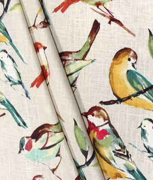 Richloom Birdwatcher Meadow Fabric Fabric Love Sewing Project