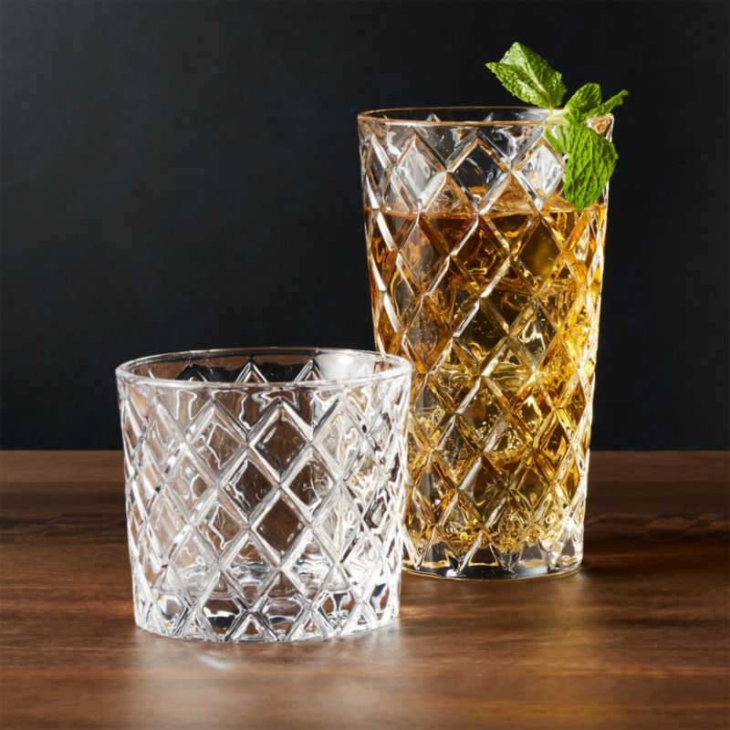 Hatch glasses crate and barrel crate barrel crystal