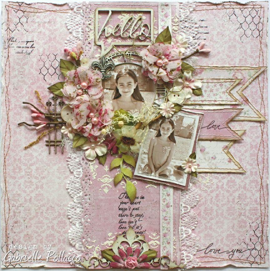 Hello **Maja Design & Tresors de Luxe** - Scrapbook.com