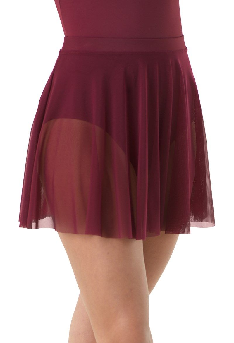 d25874a9f Short Mesh Pull-On Skirt | Twinkle Toes in 2019 | Skirts, Dance wear ...