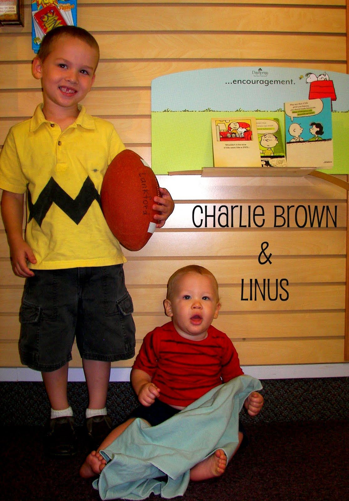 calculating blessings: random acts of craftiness #3 - charlie brown