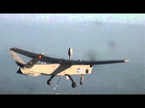 Maiden flight of the Atlante UAS in Spain - YouTube Unmanned