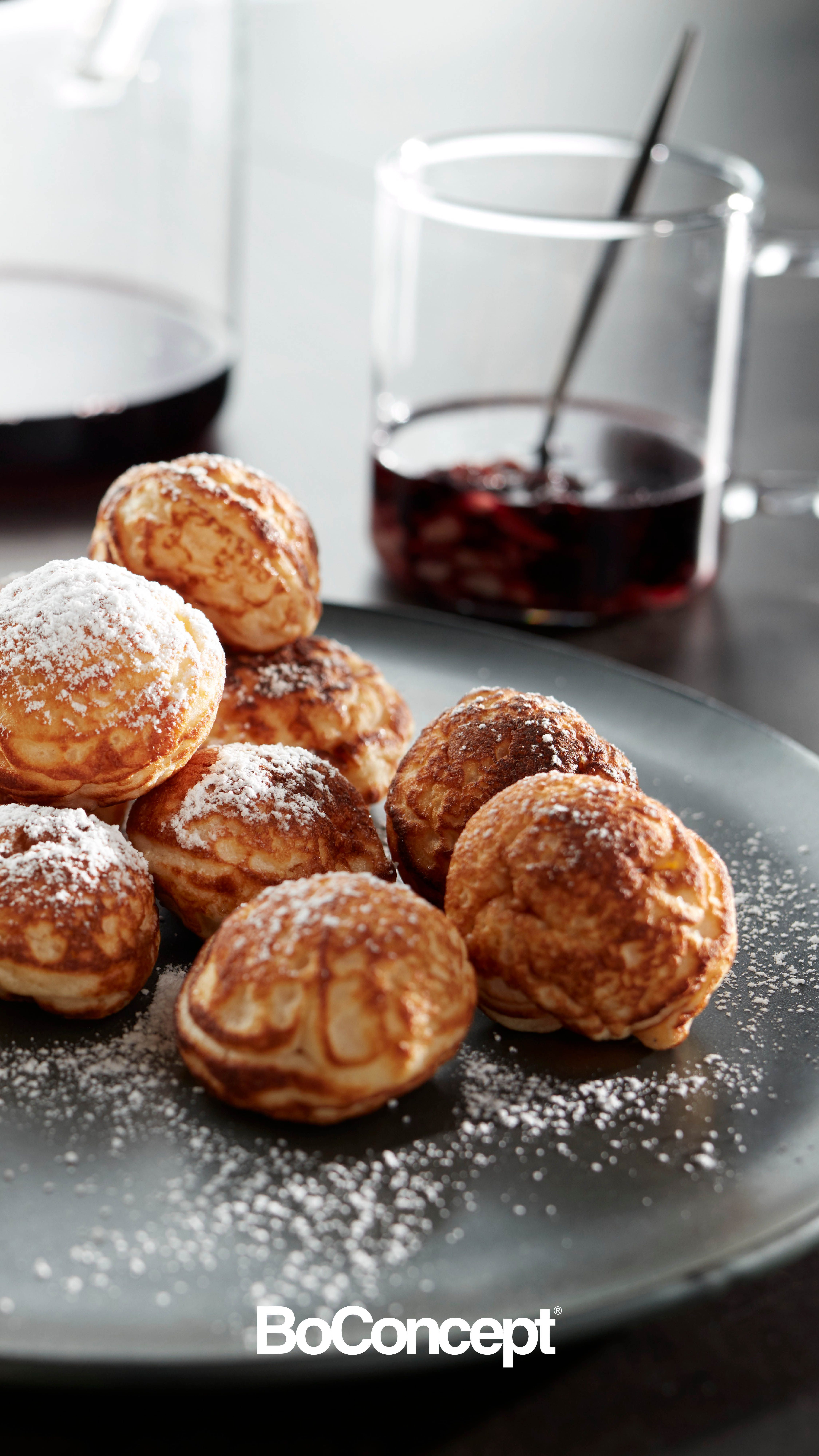 One Traditional Danish Christmas Treat Is Aebleskiver Which Means Apple Slices Although The Modern Recipe Is Apple Free These Delicious Pancake Balls Are E