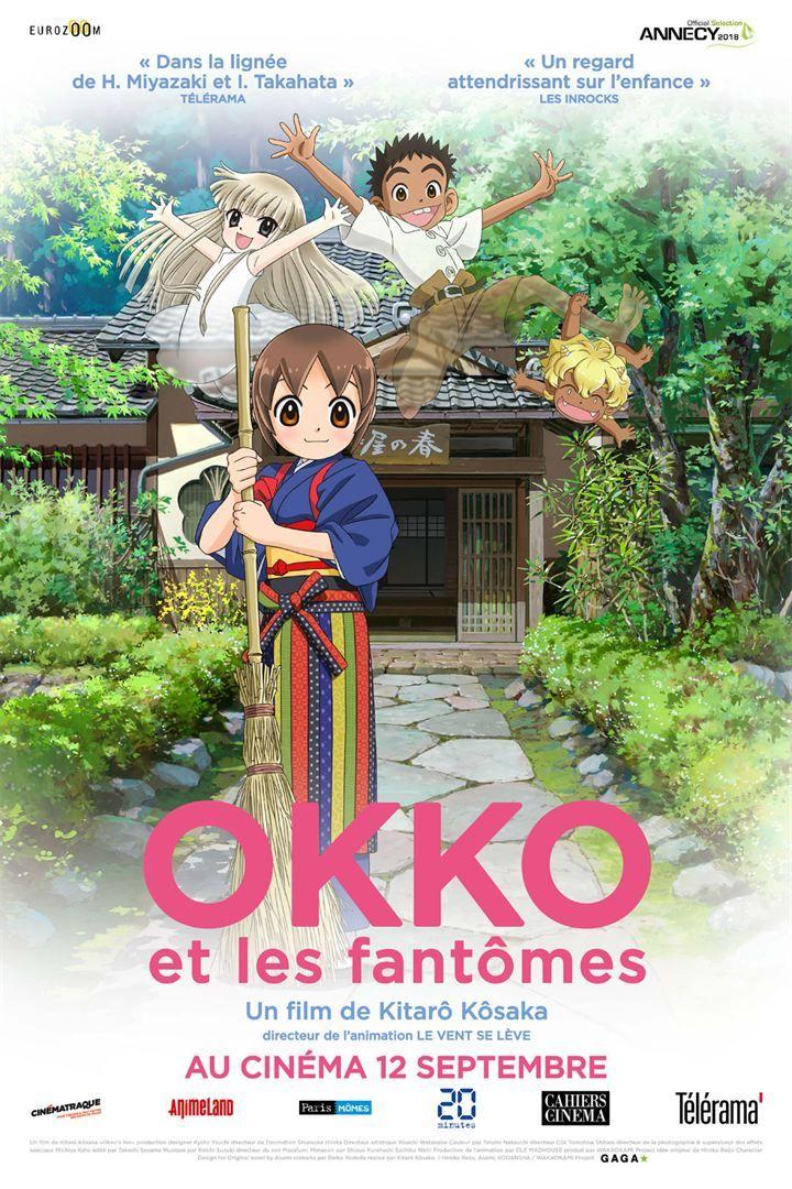 Okko Et Les Fantomes Filmes De Animacao Anime Animacao
