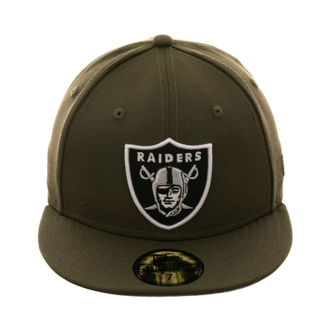 13451df6ac4 New Era 59Fifty Oakland Raiders Paisley Undervisor Fitted Hat - Black