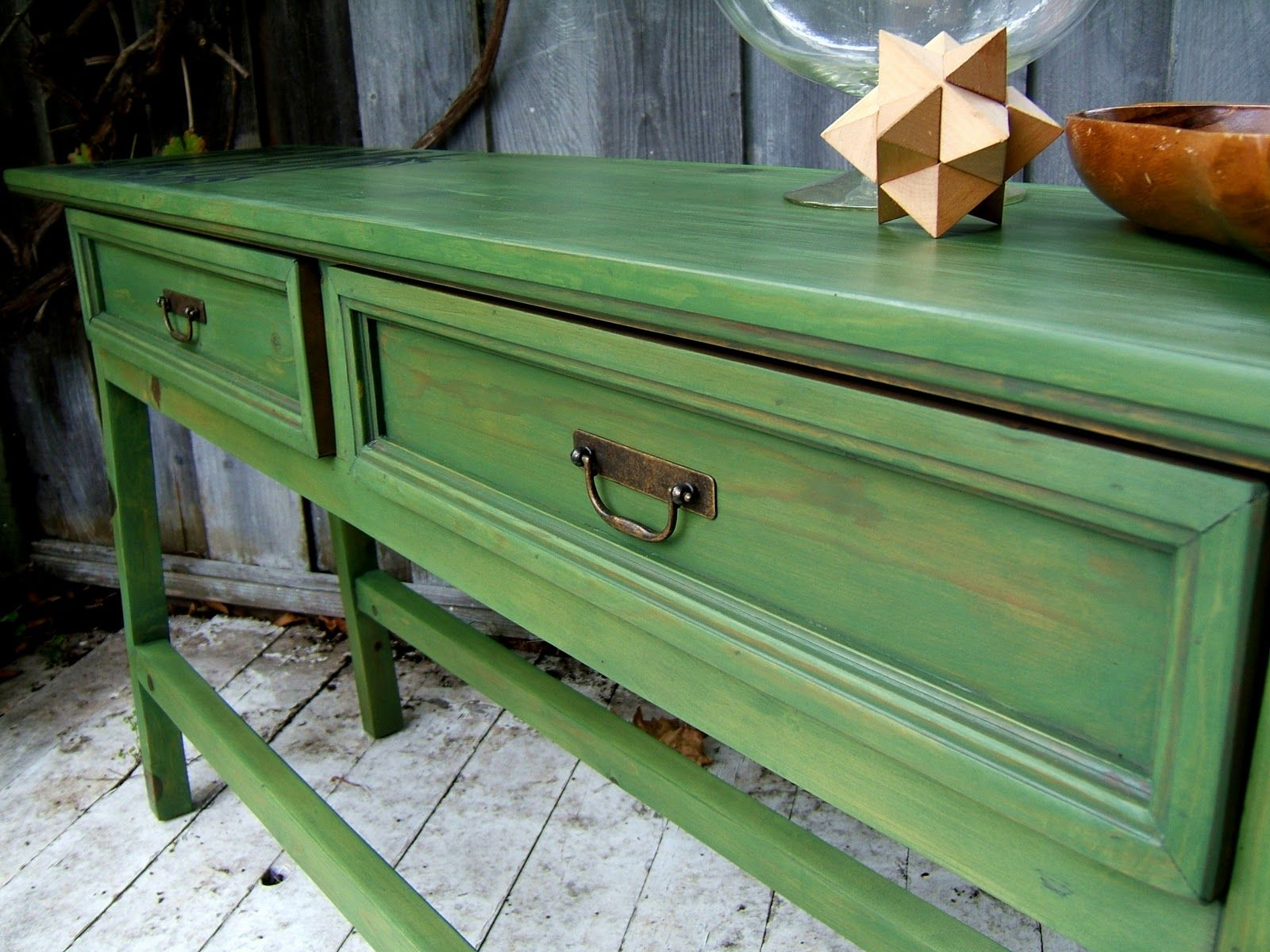 Agreeable Army Green Wood Stain For