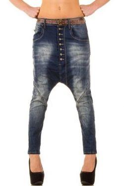 Korte Broek Spijker Dames.Boyfriend Baggy Jeans Dames Spijkerbroek Extra Laag Kruis Blauw 29
