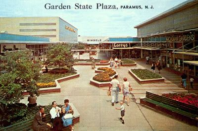 Garden State Plaza Mall In The Sixties Garden State Plaza