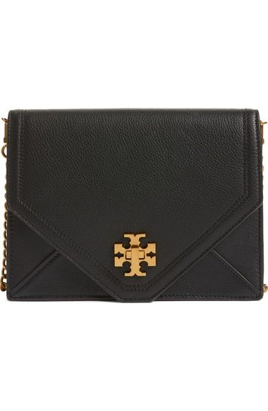 TORY BURCH Kira Leather Envelope Clutch. #toryburch #bags #leather #clutch #hand bags #