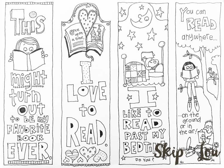 free printable coloring bookmarks | Coloring pages | Pinterest ...