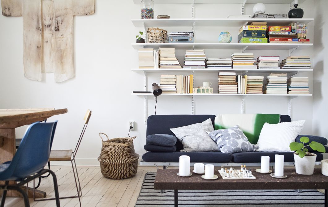 Shalony und Niclas haben ihr Appartment in Nordschweden
