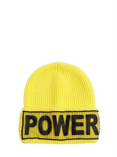 2e50cd8b52e  versace  hats Yellow Beanie
