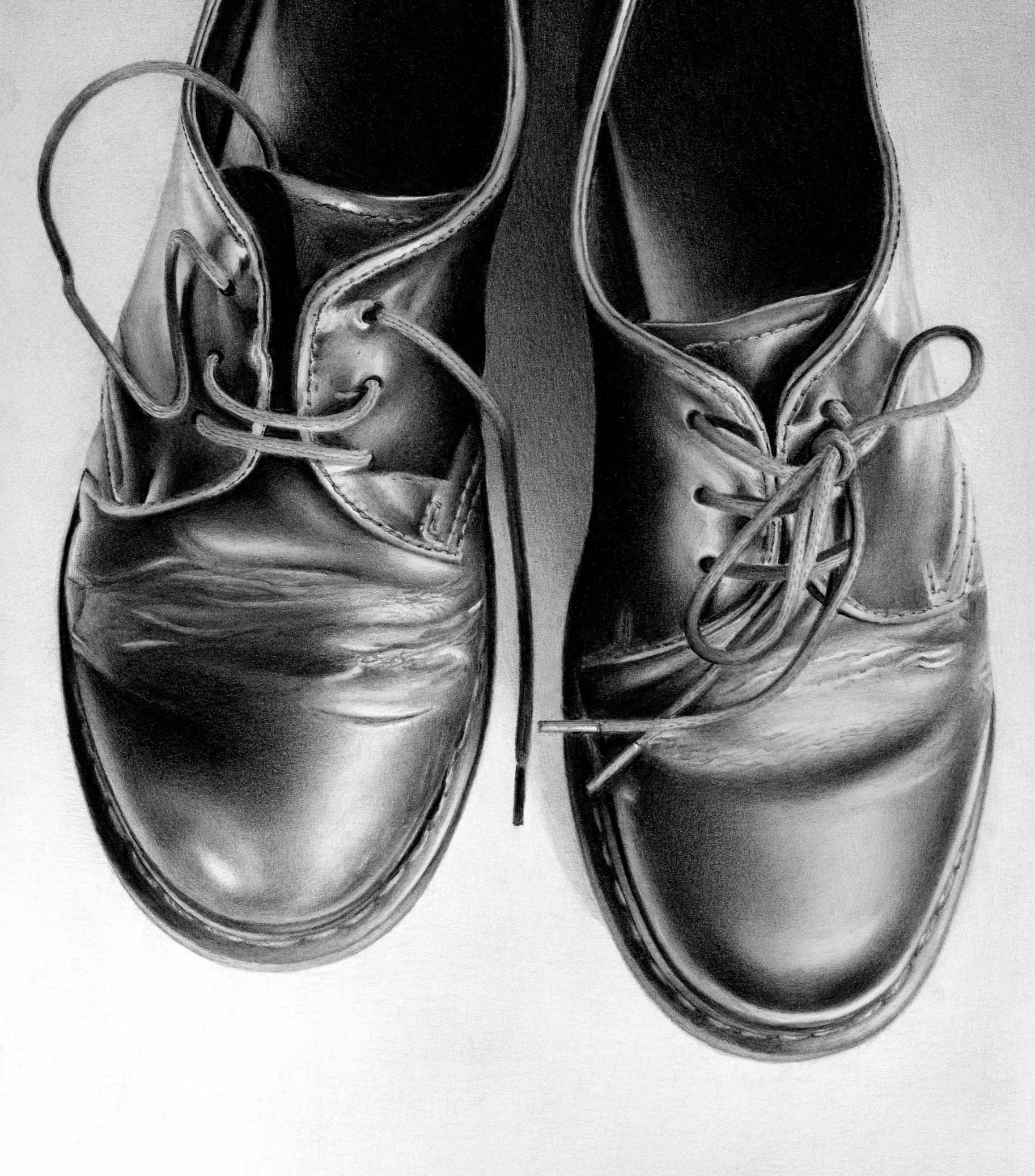 Doc martens by cath riley dark drawings realistic pencil drawings charcoal drawings charcoal
