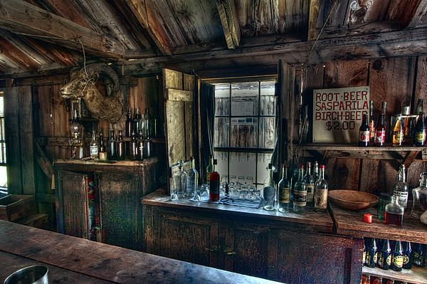 Old West Bar Criterion Saloon