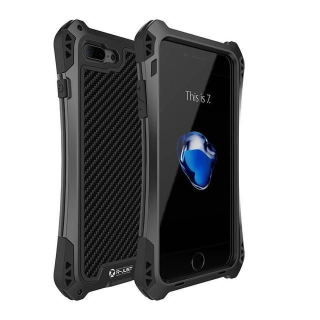 new arrival aae95 da781 New Carbon Fiber Suited Outdoor Shockproof Alloy Tempered Glass Case ...