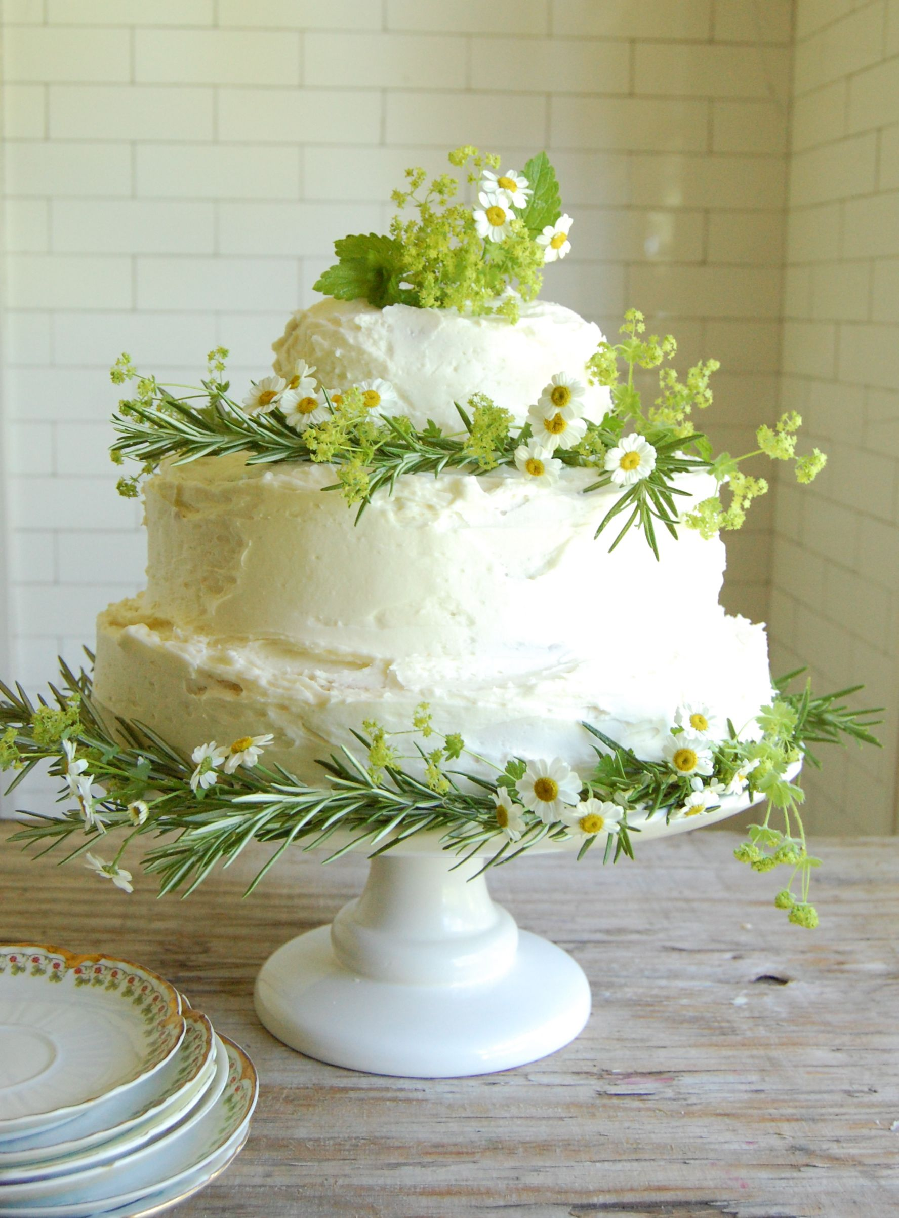 Homemade Wedding Cakes Can Be Beautiful And You Can Make The Cake