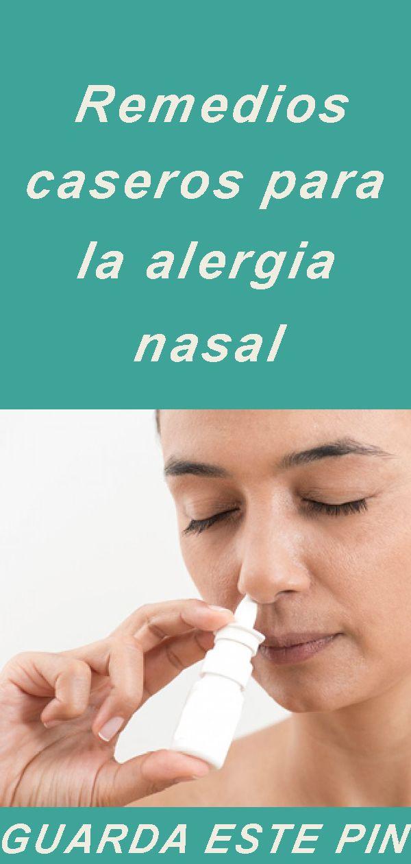 remedios caseros contra la rinitis alergica