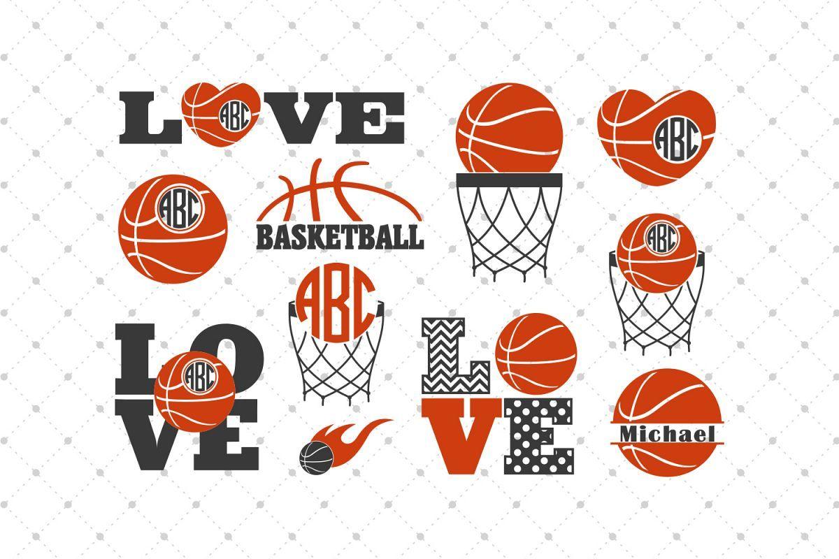 Basketball SVG Cut Files Cut files Free basketball