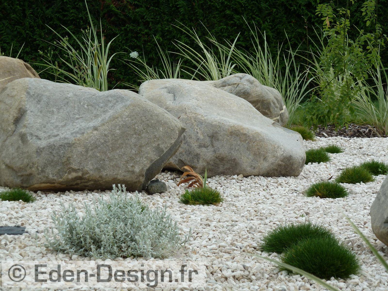 Jardin Mineral Zen Photo architecte paysagiste réalisation d'un jardin minéral zen