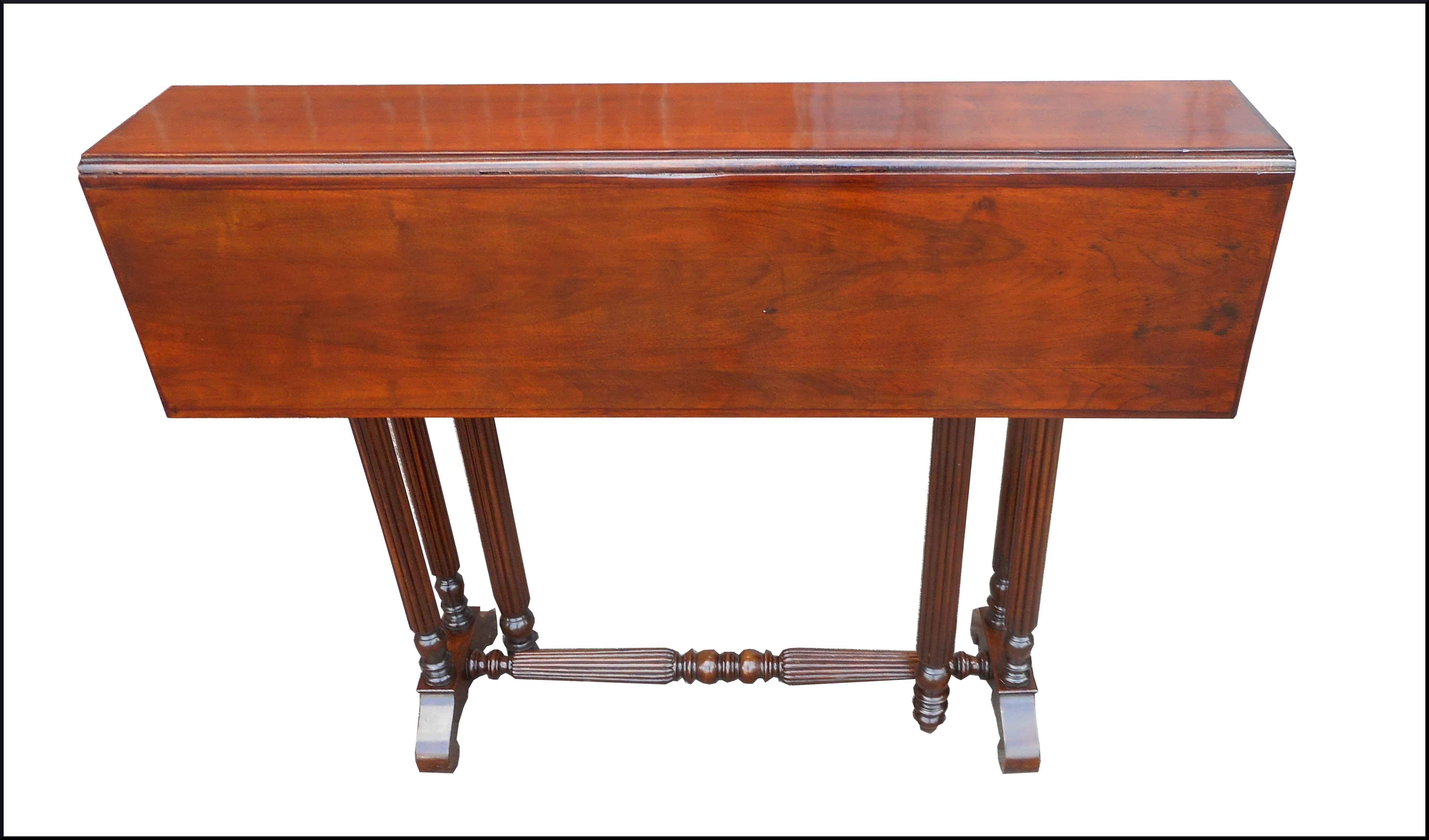 Tavolo A Consolle Apribile.Tavolino Consolle Apribile A Cancelletto N Prodotto 1401 Piccolo E