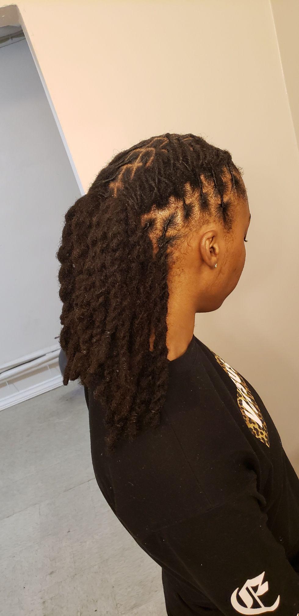 Two Strand Twist Locs Male : strand, twist, Strand, Barrel, Twist, Dreadlock, Hairstyles, Hairstyles,, Short