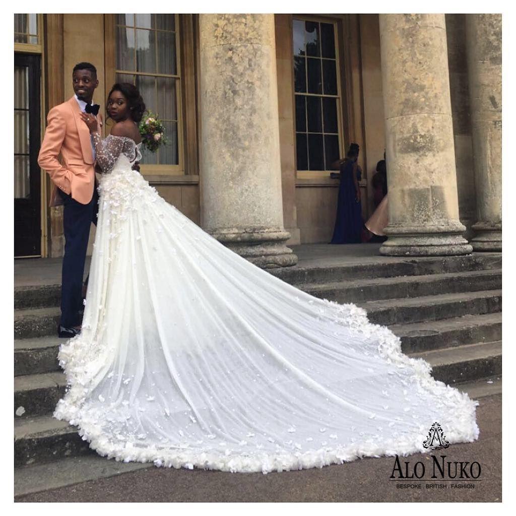 Alonuko Bridal Wear and Wedding Dress Designer London UK for African ...