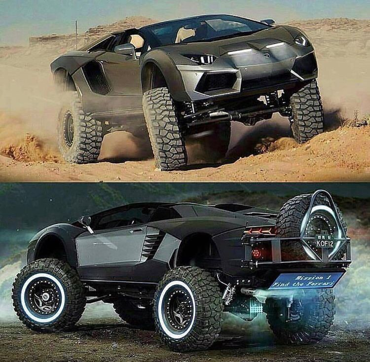 Lamborghini X Cars Rockcrawling And Cool Rides Pinterest - Cool cars 4x4