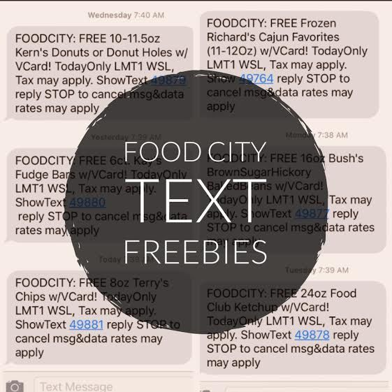 Sign Up For Food City Text Messages And Score Freebies | Fun
