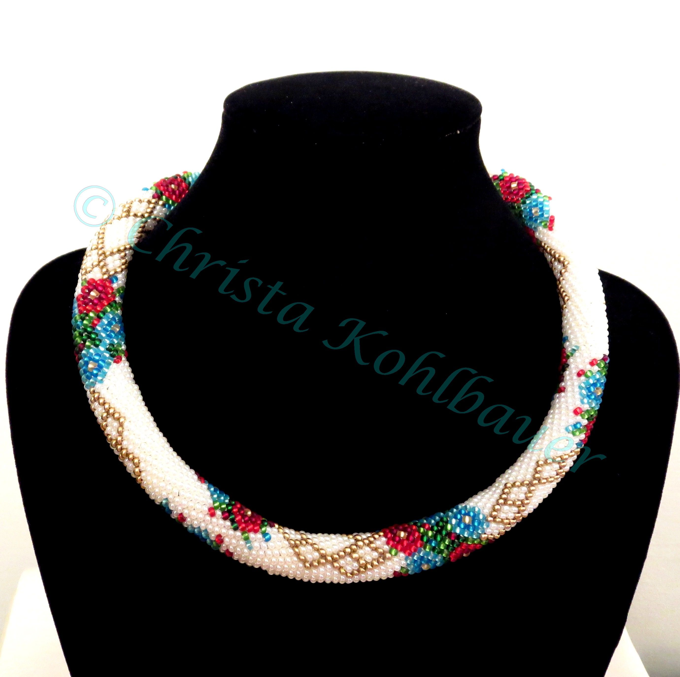 Beads Crochet Christa Kohlbauer | My Beadwork | Pinterest ...