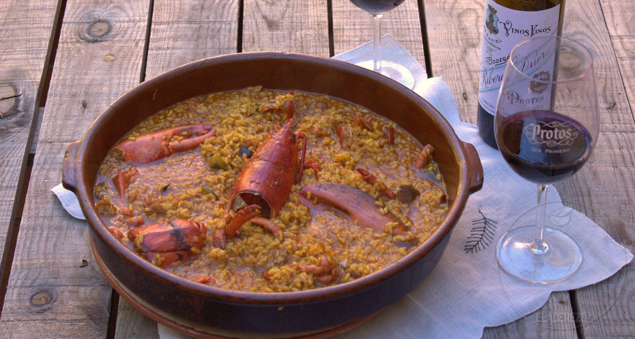 Arroz Con Bogavante Nuestra Receta Preferida Receta Comida étnica Caldo De Pescado Recetas De Comida