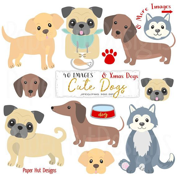 Christmas Beagle Clipart.Dog Clipart Dog Clip Art Puppy Clipart Puppies Puppy Dog