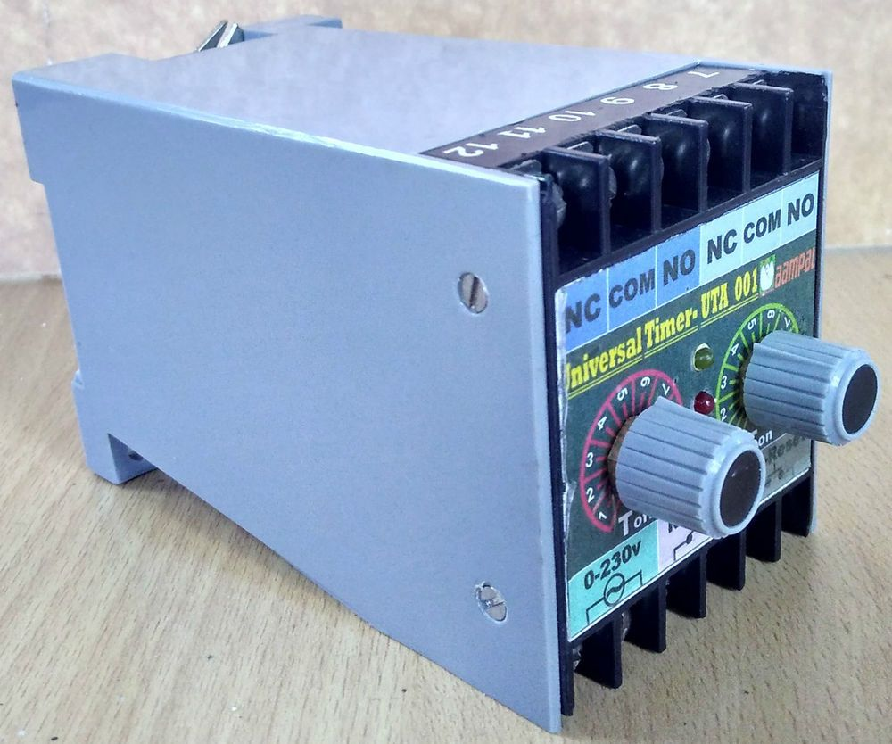 Universal Timer Industrial Timer Analog Timer On Delay & Off Delay cyclic Timer