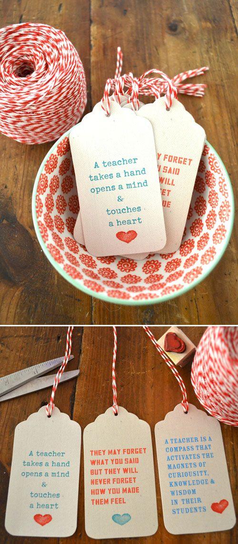8d95666dce75 Printable teacher gift tags  school  printables