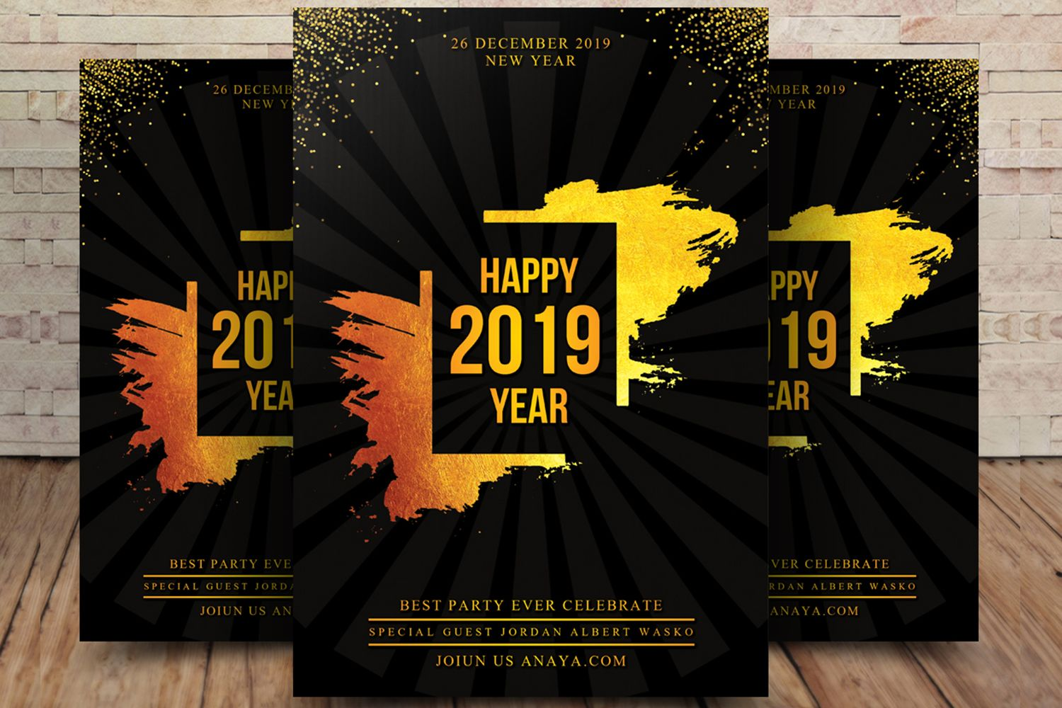 New Years Eve Party Flyer di 2020