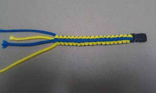 Catoctin Creek Park and Nature Center: Weekend Special: Paracord Bracelet Instructions!