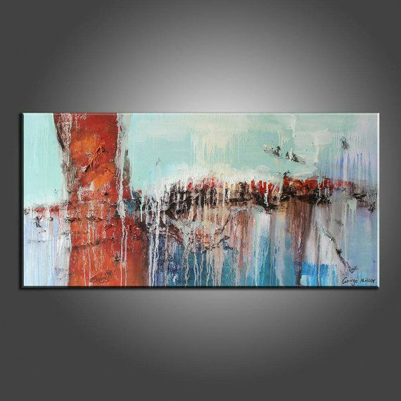 Large Canvas Art,Contemporary Art,Canvas Painting,Original Art,Kitchen Wall Art,Abstract Art,Family Wall Decor,Oil Painting, Painting Framed