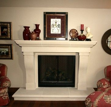Transitional Fireplace Mantel Styles Traditional Spaces Oklahoma City Devin Transitional House Transitional Decor Living Room Transitional Living Rooms