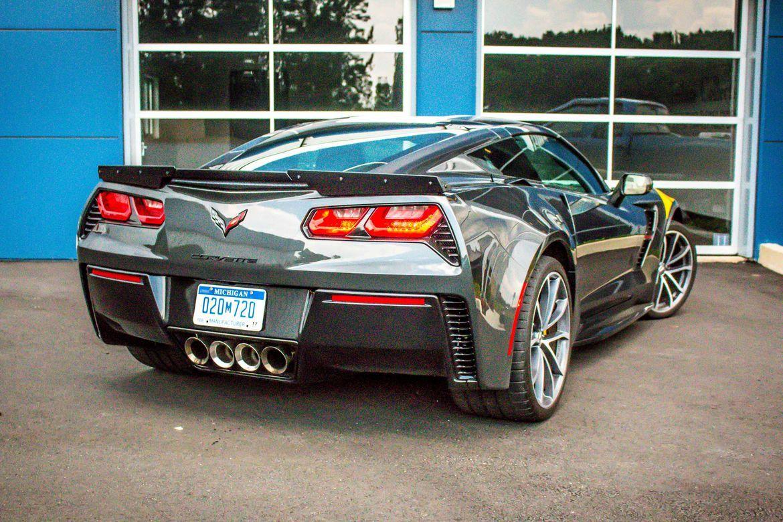 2017 Chevrolet Corvette Grand Sport is a Z06 lite