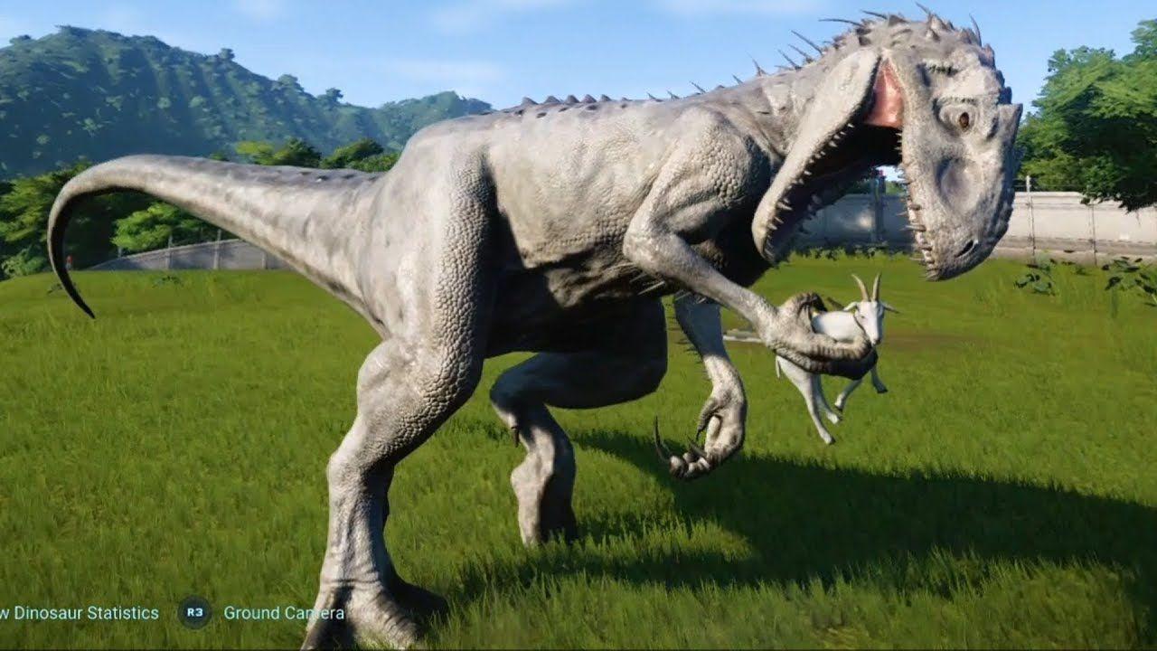 Jurassic World Evolution Indominus Rex Gameplay (PS4 HD