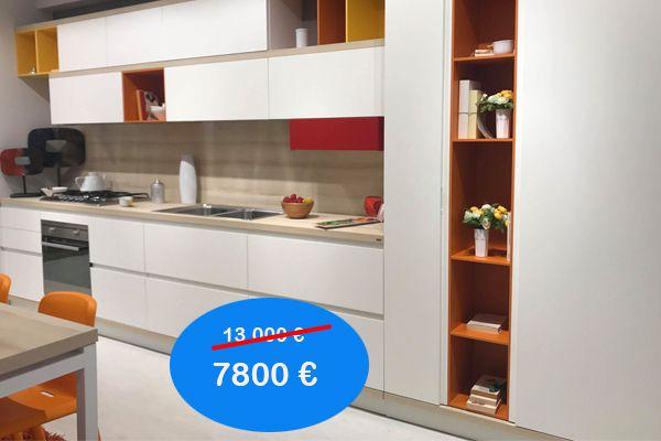 Cucina Completa Di Tavolo E Sedie.Cucina Scavolini Modello Foodschelf Completa Di Elettrodomestici