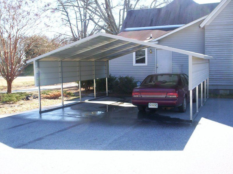 18x21_boxed_eave_double_car_carport 1655 Carport cost
