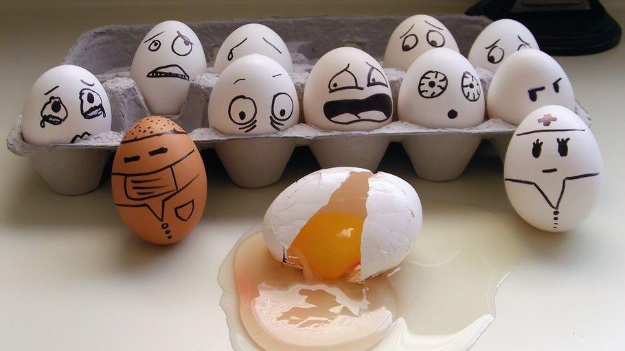Funny Eggs, Easter Eggs, Eggs, Funny Easter Eggs | Веселые ...