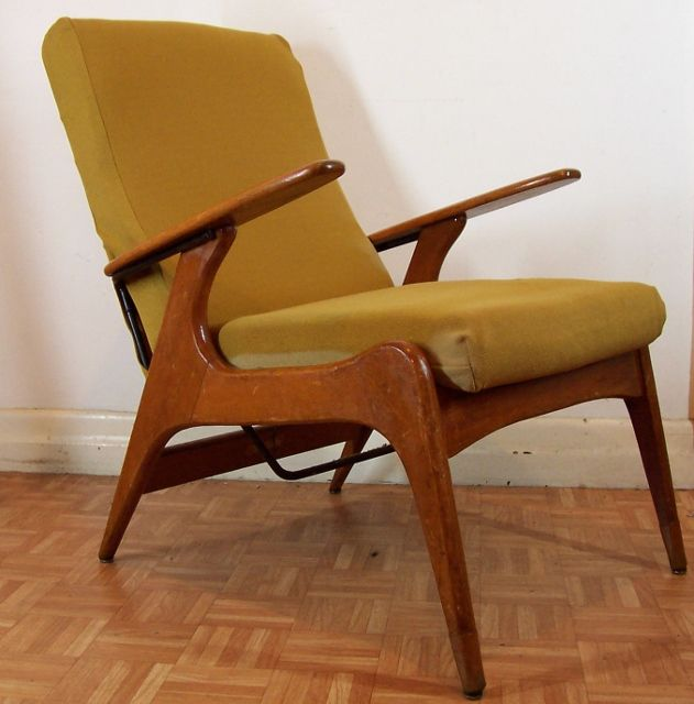 Tremendous Vintage Fler Sc55 Fred Lowen Mid Century Armchair Paddle Arm Caraccident5 Cool Chair Designs And Ideas Caraccident5Info