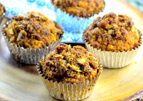 Healthy Harvest Breakfast Muffins Recipe Food Com Recipe Harvest Muffin Recipe Breakfast Muffin Recipes Breakfast Muffins