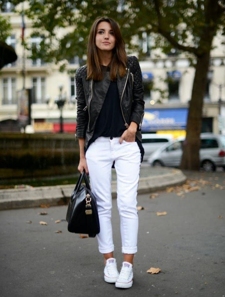+47 Outfits Con Tenis Blancos Para Chicas   Ropa de moda ...