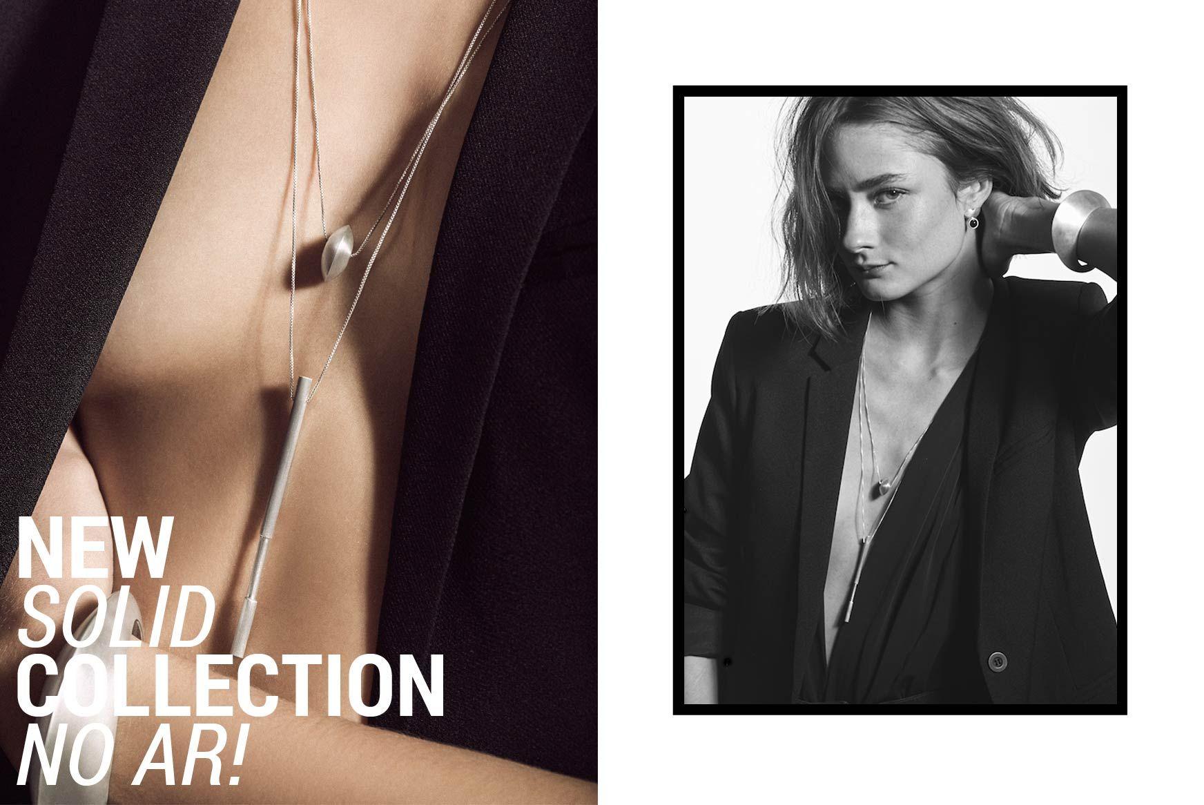 Joias minimalistas em prata para mulheres que gostam de acessórios com twist chique e cool. Shop Online: Brincos, Colares, Anéis e Pulseiras.