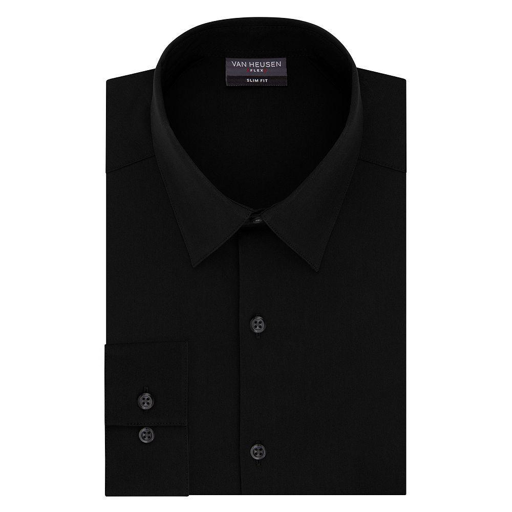 Men S Van Heusen Slim Fit 4 Way Stretch Flex 3 Point Collar Dress Shirt Stretch Dress Shirt Mens Vans Mens Shirt Dress [ 1000 x 1000 Pixel ]