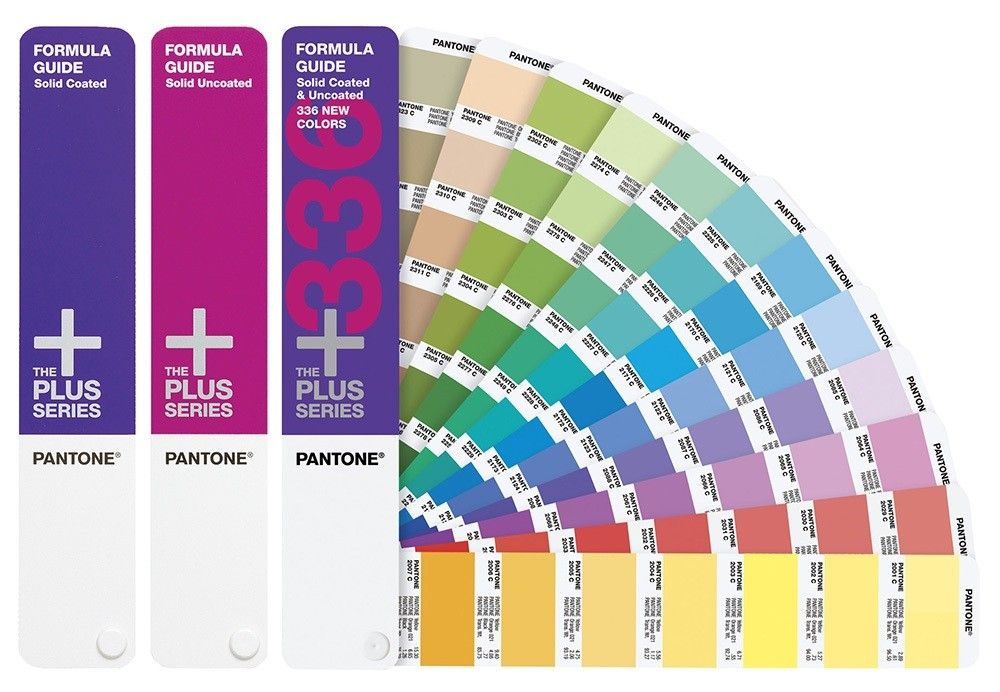 Pantone Plus Series Formula Guide Solid Coated Uncoated With