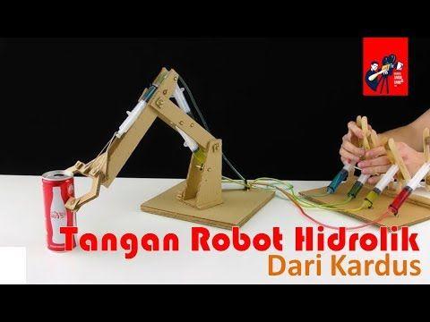 Super Kreatif Tangan Robot Hidrolik Dari Kardus
